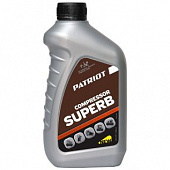 Масло PATRIOT COMPRESSOR OIL GTD 250/VG 100 0,946л. 850030600